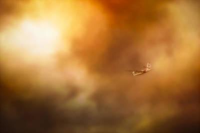 Wildfire Photograph - Into Hell by John Hamlon