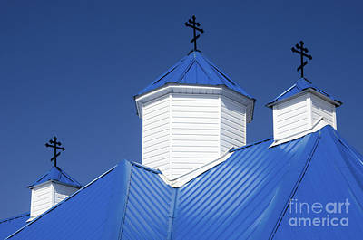 Blessed Virgin Photograph - Into The Blue 1 by Bob Christopher