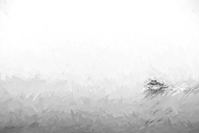 Boat Digital Art - Into The Fog II by Jon Glaser