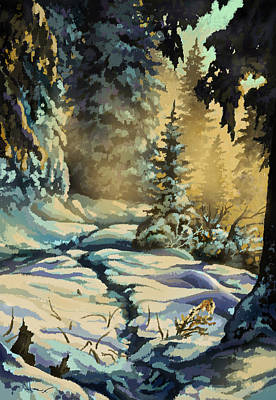Into The Myst Original by Hans Neuhart