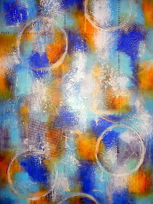 Abstract Painting - Into The Mystic by Jane Biven