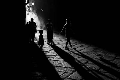 Florence Photograph - Into The Sun by Simone Buda