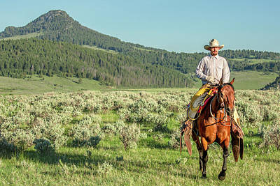 Old West Photograph - Into The Sunrise by Todd Klassy
