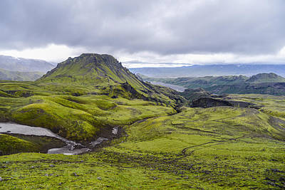 Iceland Photograph - Into Thorsmork by Alex Blondeau