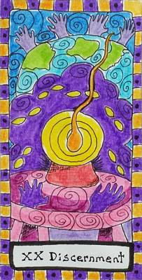 Intuitive Catalyst Card - Discernment Print by Corey Habbas