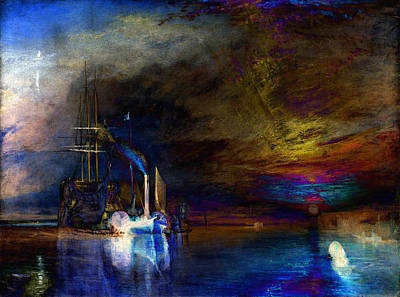 Inv Blend 19 Turner Print by David Bridburg