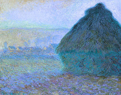 Inv Blend 21 Monet Print by David Bridburg