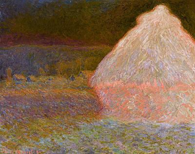 Inv Blend 5 Monet Print by David Bridburg