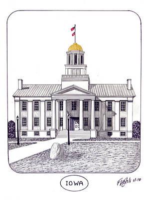 Iowa Print by Frederic Kohli