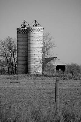 Iowa Towers 1 Print by Jame Hayes