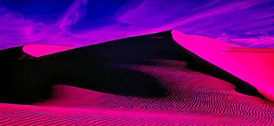 Abstract Digital Art Photograph - Ir Dune 1 by Bill Caldwell -        ABeautifulSky Photography