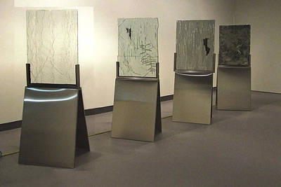 Instillation Sculpture - Iris River Lea River Wilmot River Casuarina Understory by Sarah King