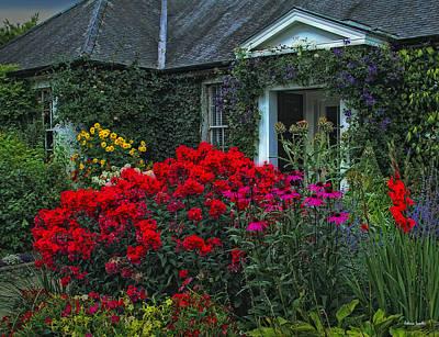 Charming Cottage Digital Art - Irish Cottage by Rebecca Samler