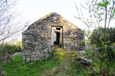 Potato Digital Art - Irish Famine House - County Sligo by Bill Cannon