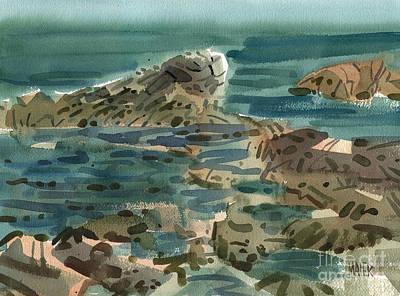 Irish Sea Print by Donald Maier