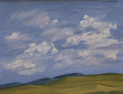 Turbulent Skies Painting - Irish Sky by John Farley