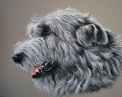Irish Wolfhound Print by Daniele Trottier