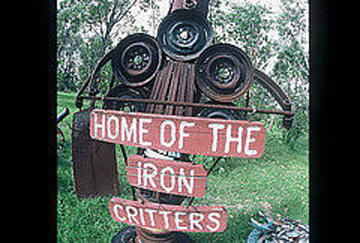 Iron Critter Original by The Signs of the times Collection