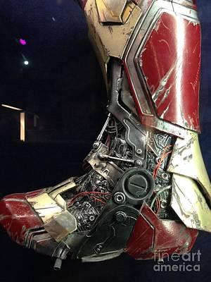 Iron Man Boot Print by Micah May