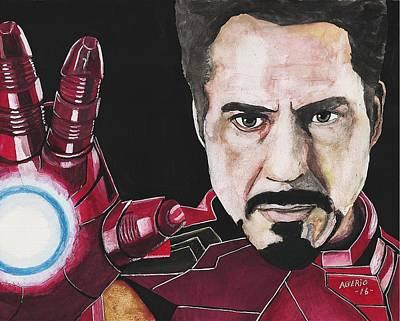Iron Man Print by Edwin Alverio