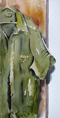 Laundry Painting - Ironing Day by Ramona Kraemer-Dobson