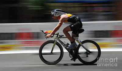 Triathlon Photograph - Ironman Need For Speed by Bob Christopher