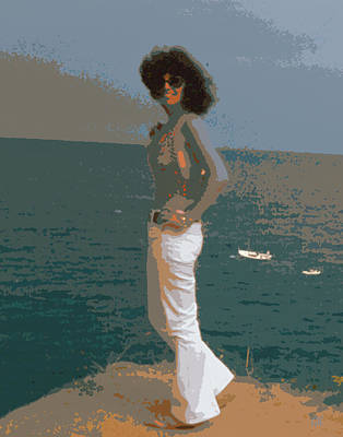 Impressionism Digital Art - Isabella by Gerlinde Keating - Galleria GK Keating Associates Inc