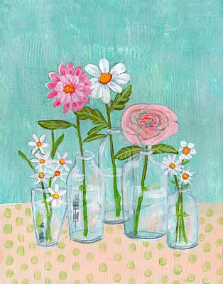 Spring Painting - Isabella Rose Flowers by Blenda Studio