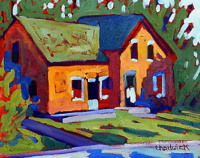 Isaiah Painting - Isaiah Tubbs Neighbour by Phil Chadwick