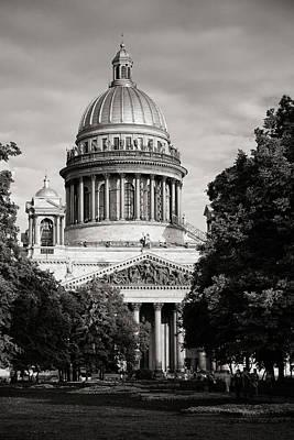 City Photograph - Isakievsky Cathedral by Konstantin Dikovsky