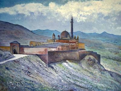 Ishak Pasa Palace Dogubayarzit Anatolia Turkey 2006  Original by Enver Larney
