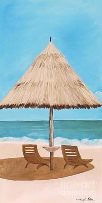 Painting - Island Dreams 2 by Joseph Palotas