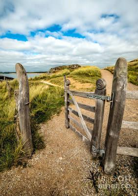Latch Photograph - Island Gate by Adrian Evans