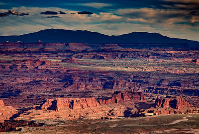 The Plateau Photograph - Island In The Sky by Rick Berk