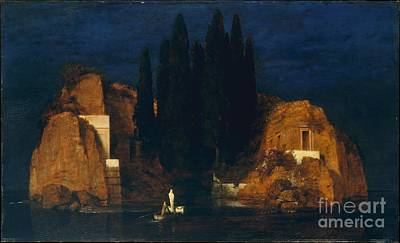Arnold Painting - Island Of The Dead by Arnold Bocklin