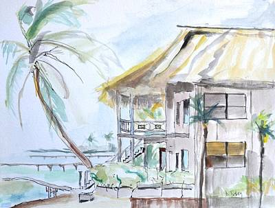 Island Paradise Original by Donna Tuten
