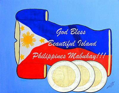 Island Philippines Original by Lorna Maza