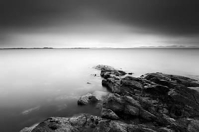 Islay Photograph - Island Rocks by Grant Glendinning