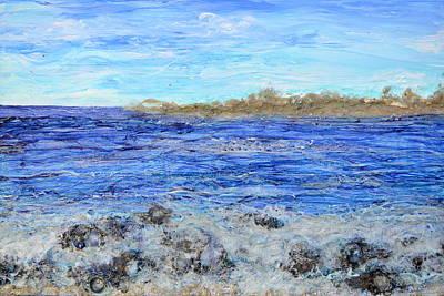 Islands And Surf Original by Regina Valluzzi