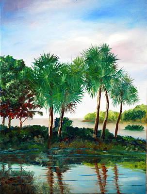 Isle Of Palms Print by Phil Burton