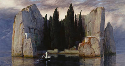 Isle Of The Dead Print by Arnold Bocklin