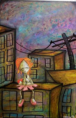 Painting - It Hurts Realy Deep This Time by Fabio Napoleoni