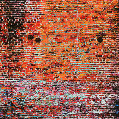 Brick Photograph - It Is Madness by Lee Harland
