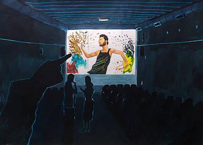 Painting - It Looks Like An Artist by Lazaro Hurtado