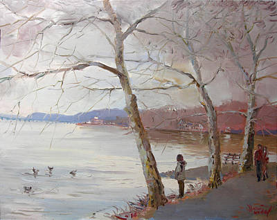 Like Painting - It Looks Like Rain by Ylli Haruni
