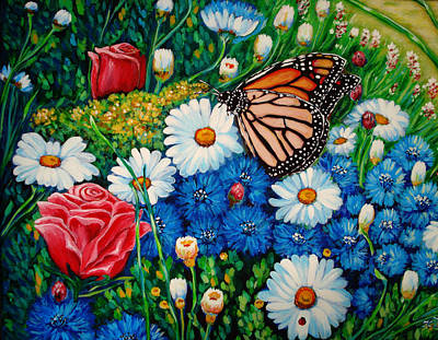 Spirit Catcher Painting - It Was A Butterfly by Katreen Queen