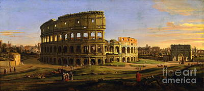 Italian Landscapes Painting - Italian Landscape by Celestial Images