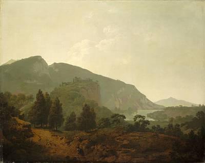 Italian Landscape Print by Joseph Wright