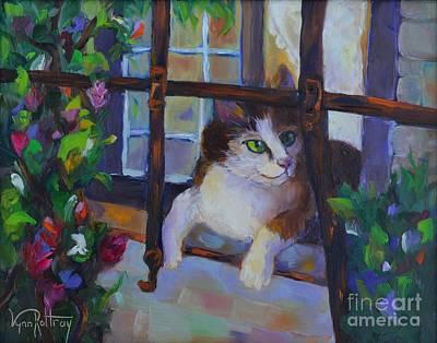 Bannister Painting - Italian Spy by Lynn Rattray
