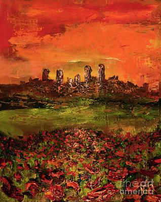 Italian Sunset Original by Jodi Monahan